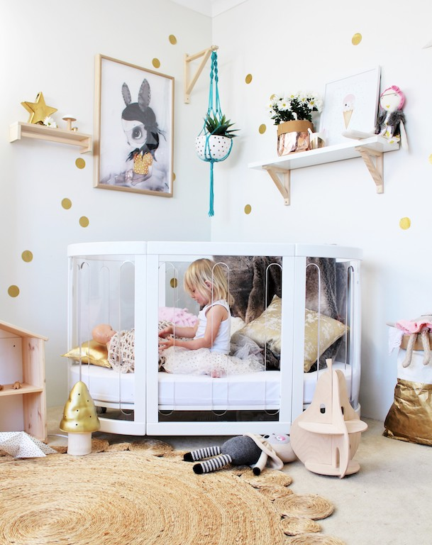 versatile baby cot that grows with your child